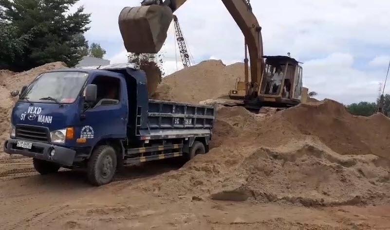 Chọn cát xây tô cho vữa trát xây, tô đảm bảo chất lượng, tuổi thọ công trình