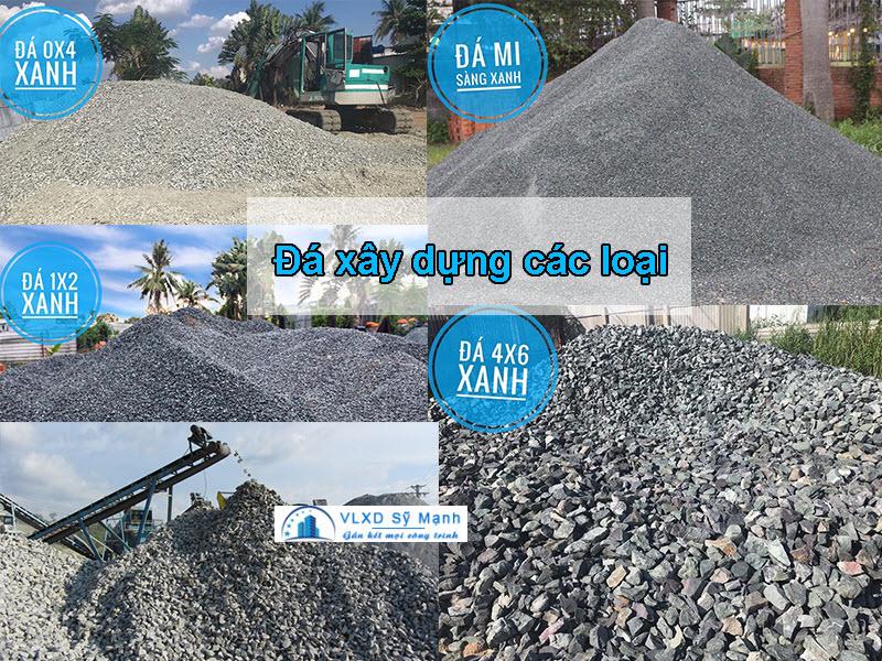 Các loại đá xây dựng hiện nay