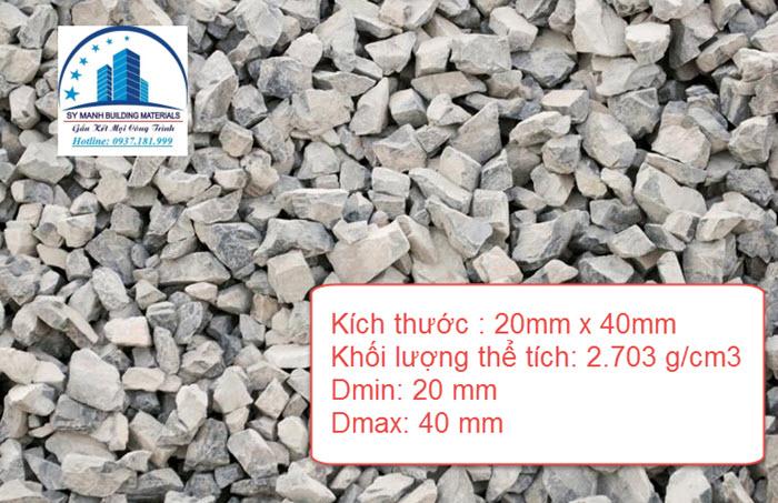 Thông số kỹ thuật đá dăm 2x4