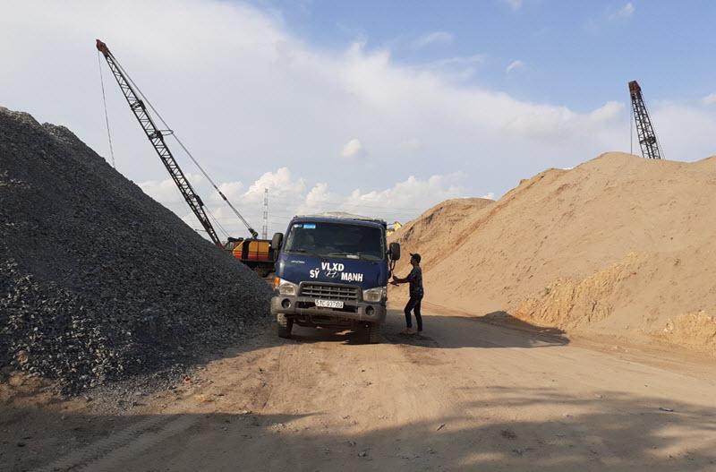 Cát xây dựng giá gốc tại tất cả các quận trong nội thành tphcm